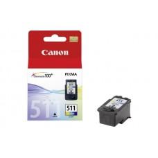 Rašalinė kasetė orginali Canon CL-511 Spalvota