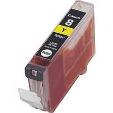 Rašalinė Canon neorginali kasetė CLI-8 YL Geltona spalva