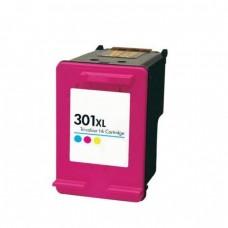 Rašalinė neorginali kasetė HP 301 XL  ( spalvota ) padidinta talpa